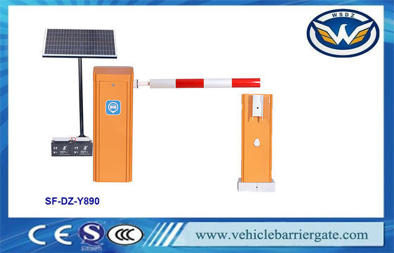 Parking Lots 400w 6m Arm Planetary Reducer Boom Gate Barrier